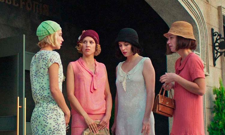 chicas del cable temporada 2 diciembre